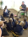 Dave showed us some of his poems.